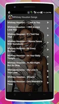 Whitney Houston Songs screenshot 2