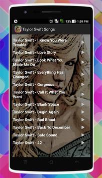Taylor Swift Songs screenshot 3