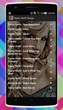 Taylor Swift Songs screenshot 2