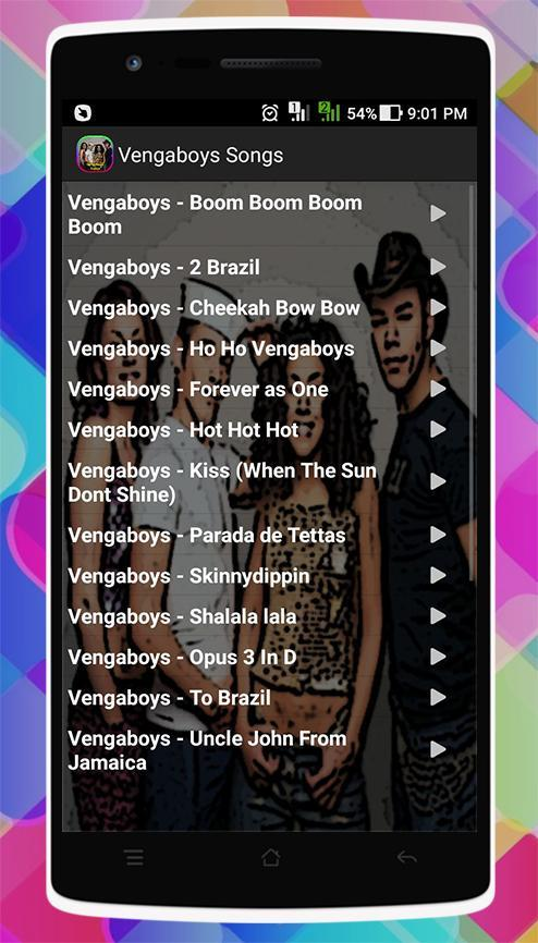Vengaboys Boom Boom Boom Boom Song Download