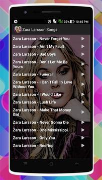 Zara Larsson Songs screenshot 1