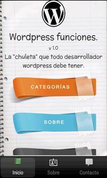 Funciones Wordpress poster
