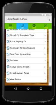 Koleksi Lagu Kanak Kanak apk screenshot