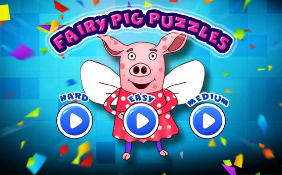 Fairy Pig Puzzles poster