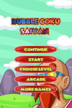 Bubble Goku Saiyan poster