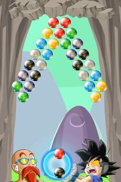 Bubble Goku Saiyan apk screenshot