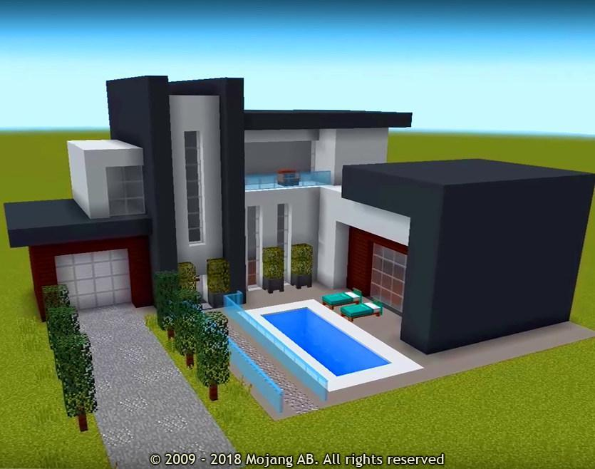 Modern House For Minecraft Mod For Android Apk Download
