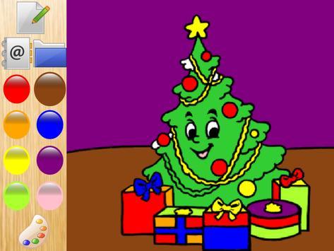 Colorful christmas Santa Claus screenshot 2