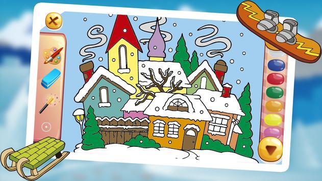 SAMPI COLORS Drawing Winter screenshot 10
