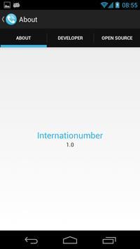 Internationumber poster