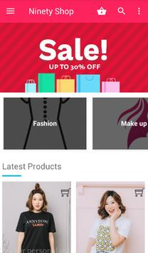 Ninety Shop - Fashion and Beauty poster