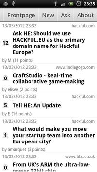 Hackful Europe Reader screenshot 3