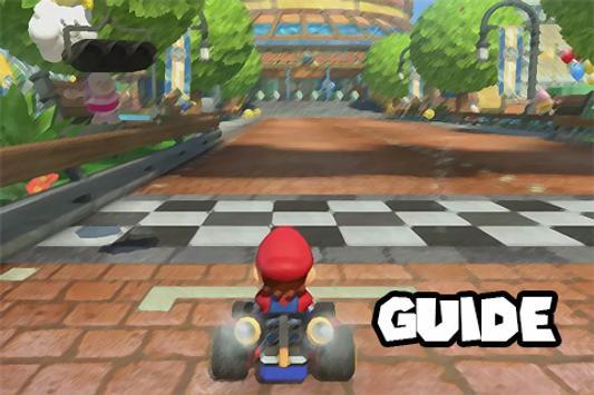 Guide for Mario Kart 8 poster