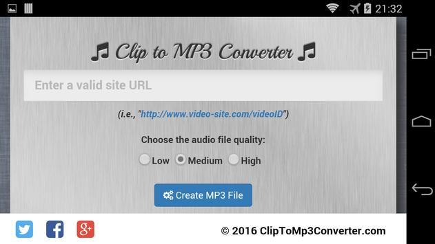 clip to mp3 converter apk free tools app for