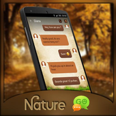 (FREE) GO SMS NATURE THEME icon