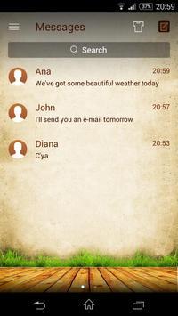 (FREE) GO SMS NATURE THEME apk screenshot