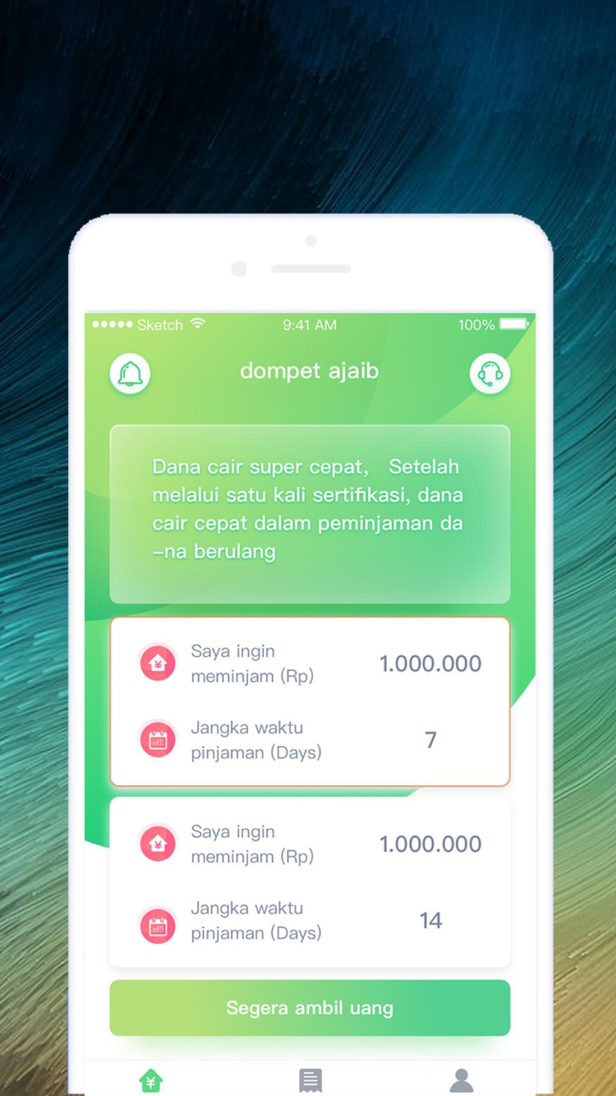 Dompet Ajaib Pinjaman Semua Orang Mudah Dan Cepat For Android