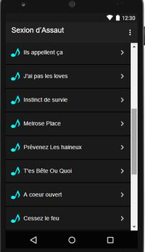 Sexion d'Assaut :-: Ma direction apk screenshot