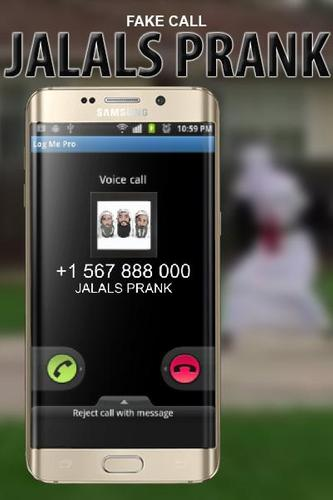 fake call from jalals prank OMG THEY ANSWERED ME for Android