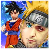 Saiyan Ninja Faces icon