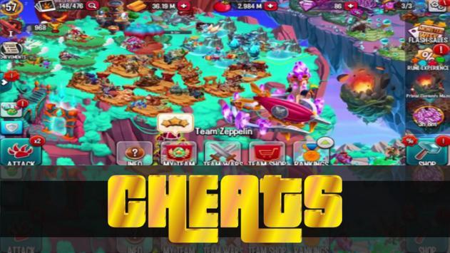 Cheats For - Mosnter Legends 2k17 apk screenshot