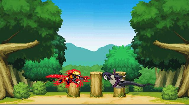 Advenced Kyuubi Ninja fight screenshot 2