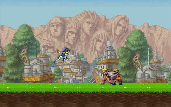 Ultimate Sasuke ninja fight screenshot 1
