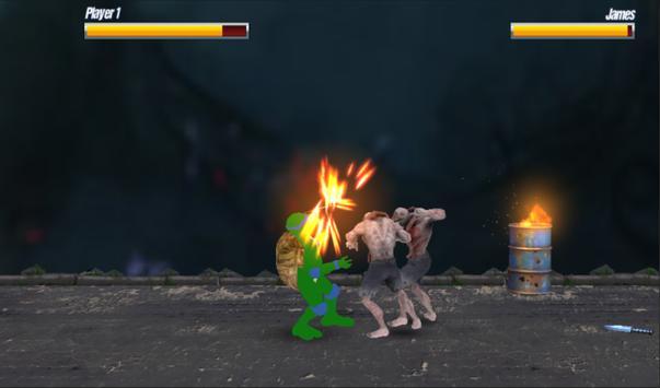Turtle Ninja Shadow - A  Superhero Kung Fu Fighter poster