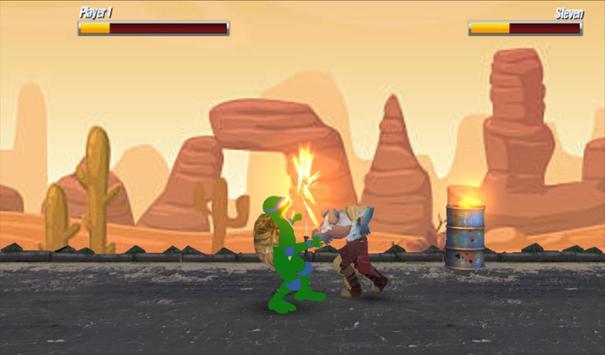 Turtle Ninja Shadow - A  Superhero Kung Fu Fighter screenshot 4