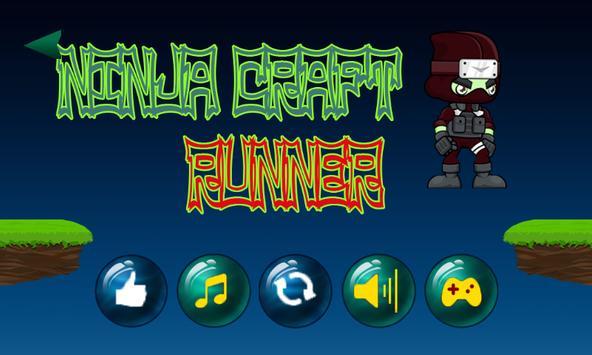 Ninja craft runner screenshot 2