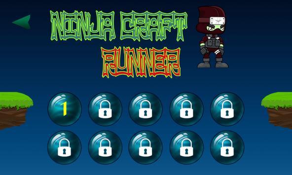 Ninja craft runner screenshot 3