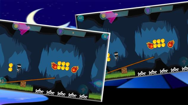 Super Red Ninja power- Shadow , Fight & Run screenshot 5