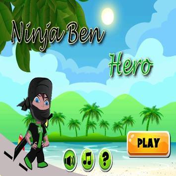 Ninja Ben Hero poster