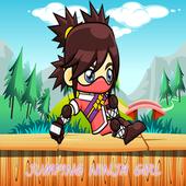 Jumping Girl Ninja icon