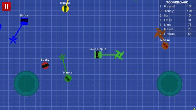 Ninja Slap.io apk screenshot