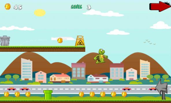 Adventure Ninja Turtle apk screenshot