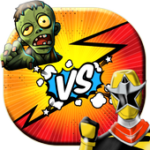 ninja vs zombie: warrior-fight-survival & legends icon
