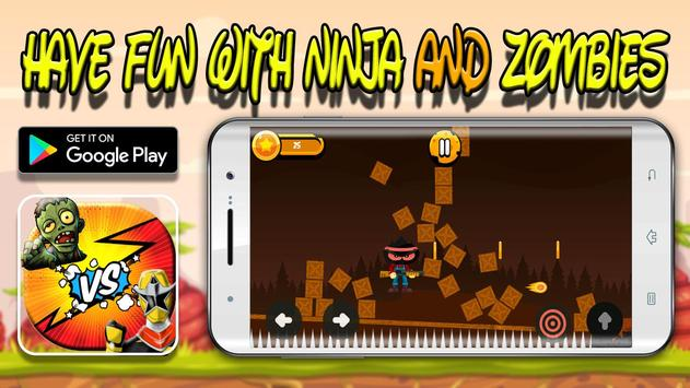 ninja vs zombie: warrior-fight-survival & legends screenshot 3