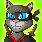Awesome Ninja Cat icon