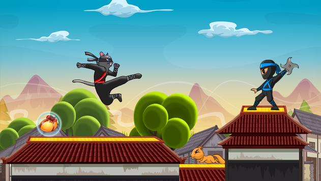 Awesome Ninja Cat poster