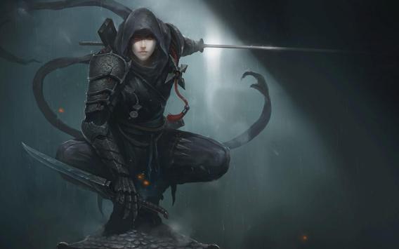 HD Wallpaper Of Ninja Characters screenshot 4