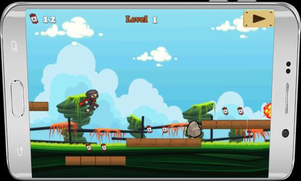 ninja jump adventures 2017 apk screenshot
