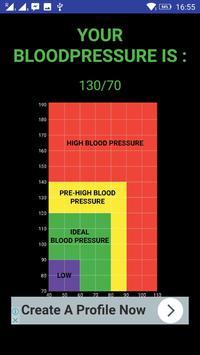 Blood Pressure Checker Prank screenshot 2