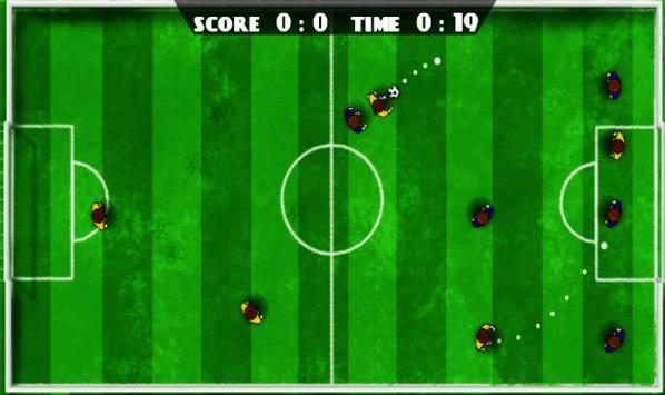SwipeSoccer (football, Soccer) apk screenshot