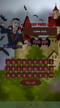 My Vampire Name screenshot 1