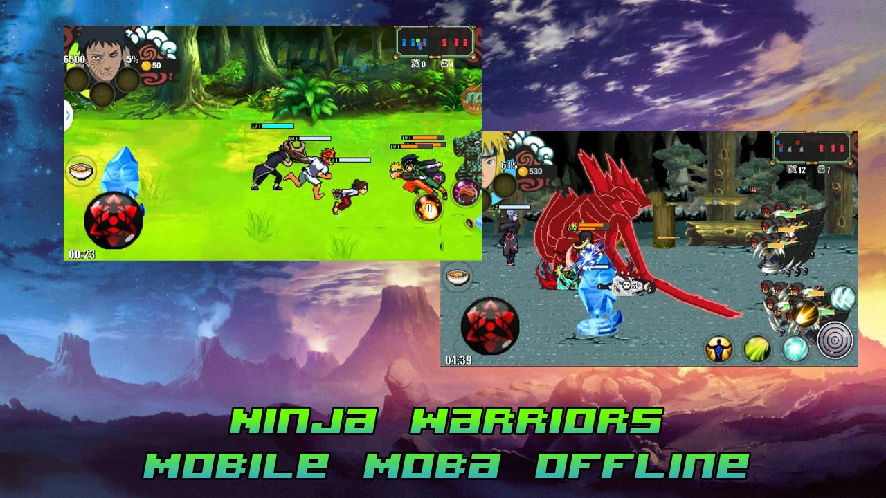 Ninja Warriors - Mobile Moba Offline for Android - APK Download