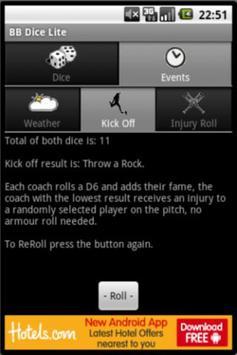 BB Dice Lite apk screenshot
