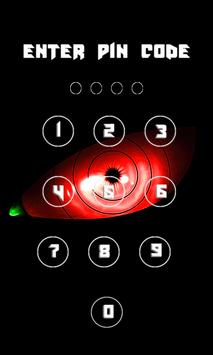 Sharingan Ninja Lock Screen wallpapers Pro screenshot 3