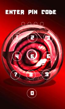 Sharingan Ninja Lock Screen wallpapers Pro screenshot 1