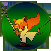 Ninja pirate boy Super jump icon
